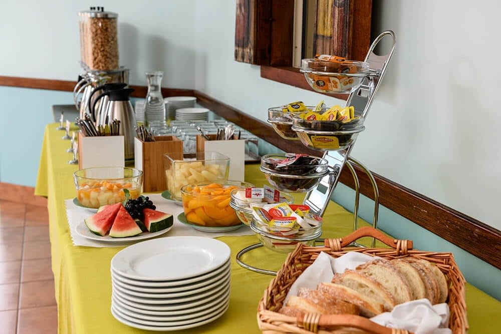 Complimentary Continental Breakfast for Guests at Villa Mirasol