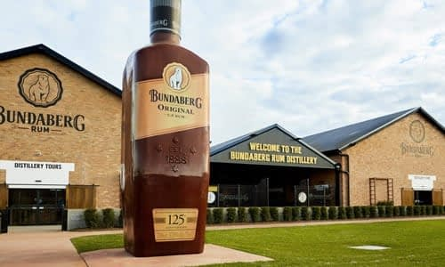 The Bundaberg Rum Distillery